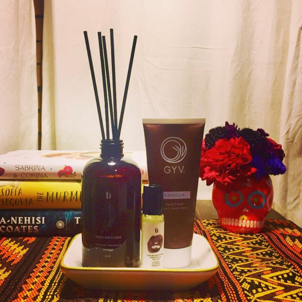 Spiritú Home Reed Diffuser in Amber