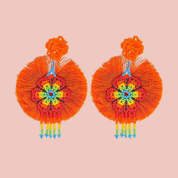 Sourced from Colombia: Tassel Earrings