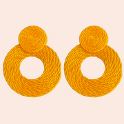 Sourced from Colombia: Woven Earrings
