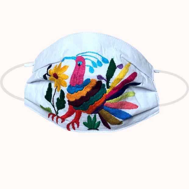Tenango Hand-Embroidered Non-Medical Face Masks
