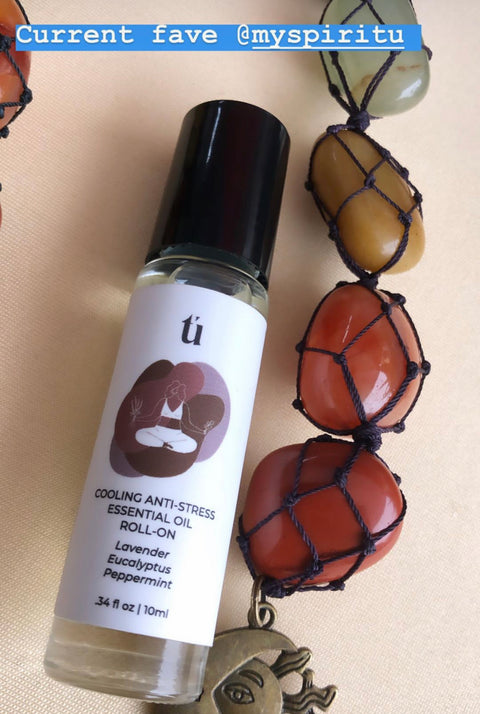 Tú by Spiritú | Cooling Anti-Stress Essential Oil Roll-On