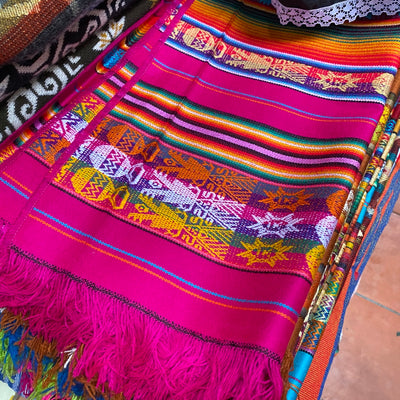 Sourced from Colombia: Woven Multicolor Runner