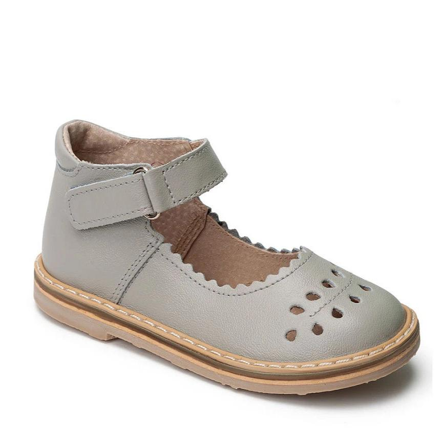 """Twig"" Mary Janes Light Grey"