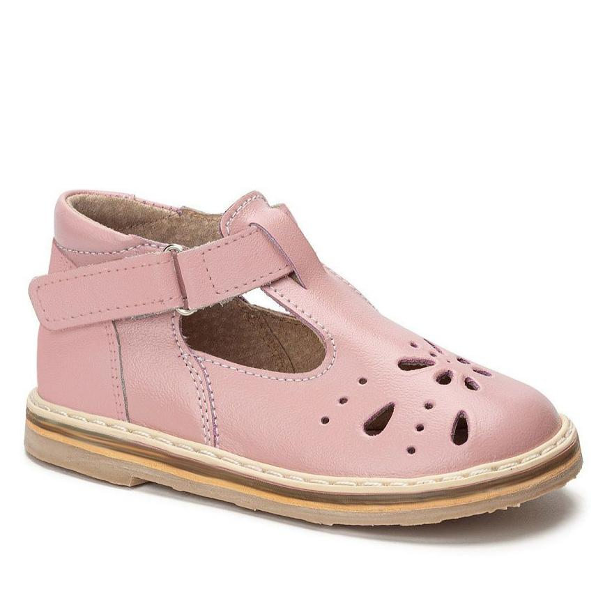 """Florence"" T-strap Baby pink"
