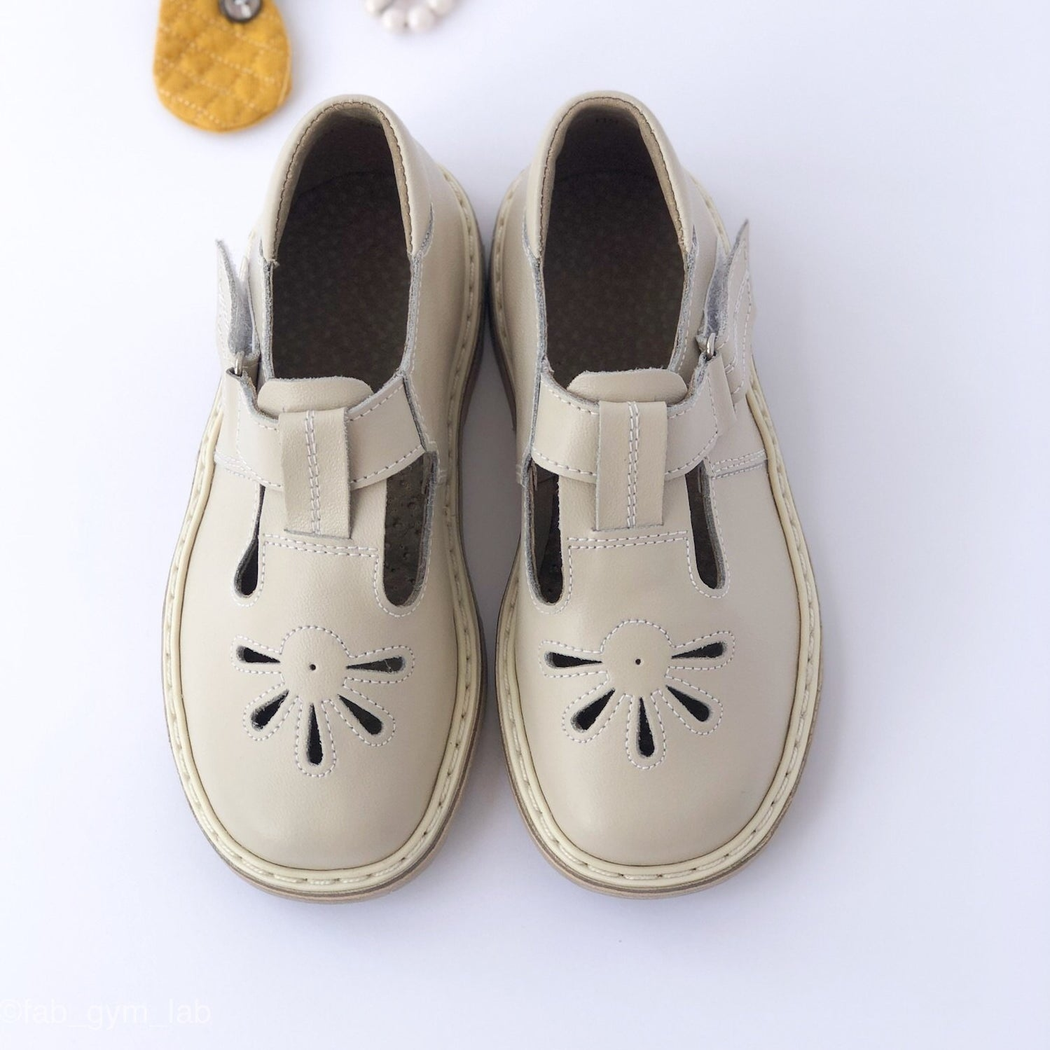 Mary Jane vintage retro girls shoes for school leather , livie luca, monkey feet