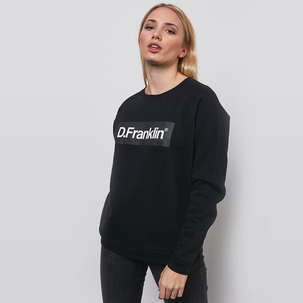 Black / White Rec Sweatshirt - Black