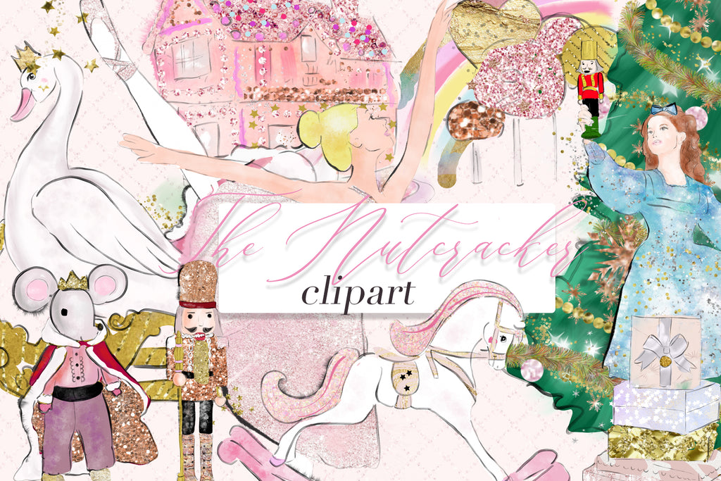 Nutcracker clipart illustrations