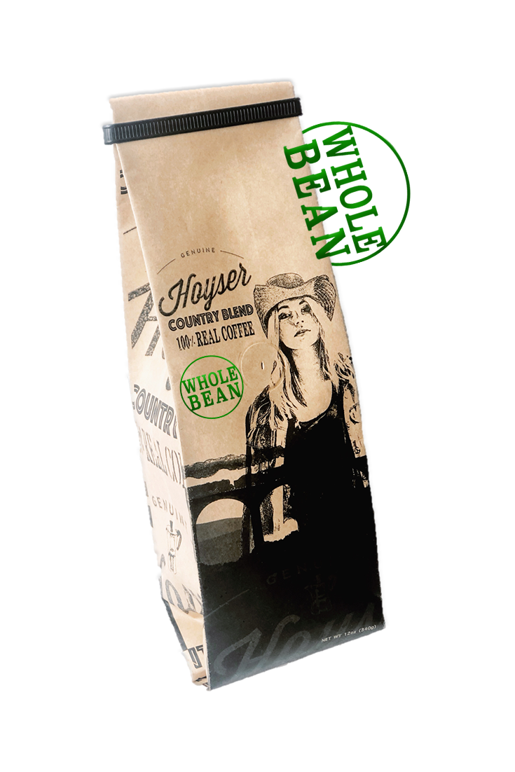 Hoyser Country Blend (12oz Whole Bean Coffee)