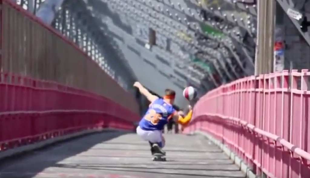 THE SKATEBOARDING GLOBETROTTER III