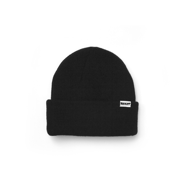 SHUT Barb Beanie Black