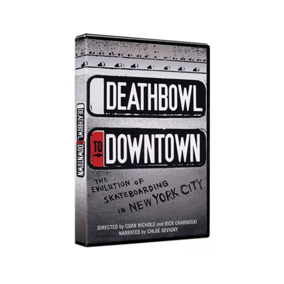 """Deathbowl To Downtown"" NYC Skateboard Documentary DVD"