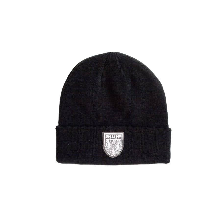 SHUT Crest Beanie Dark Green