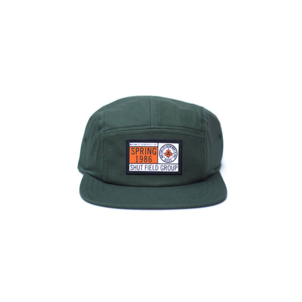 SHUT FIELD GROUP 5 Panel Snapback Cap