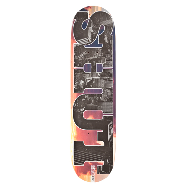 SHUT Sunset Series 8.125 Deck