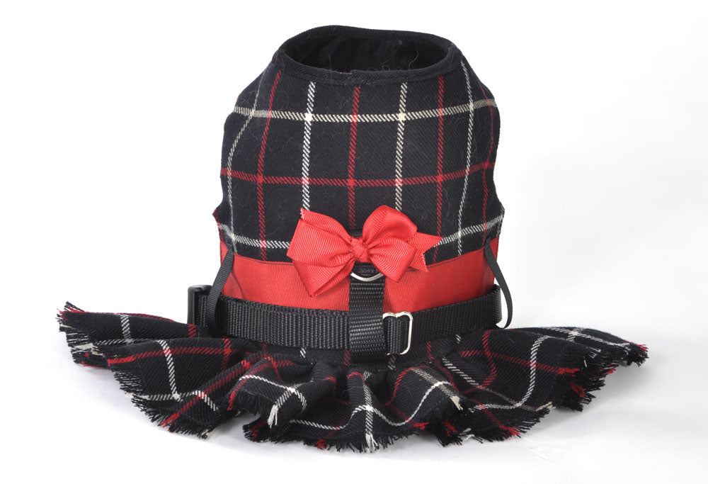 Plaid Dog Harness