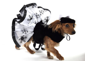 Snowflake Dress, Dog Dress