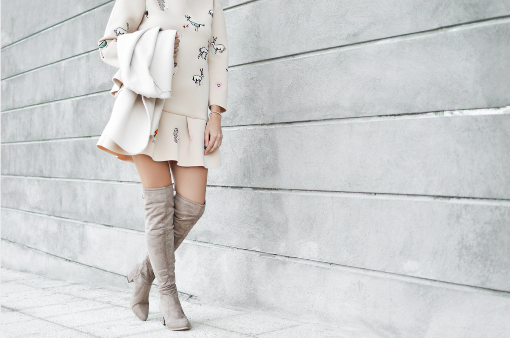 Which Boots Go With Which Skirt? Check Out These 4 Combos