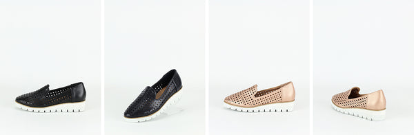 Obbs in two lovely colours –Black and Rose Gold