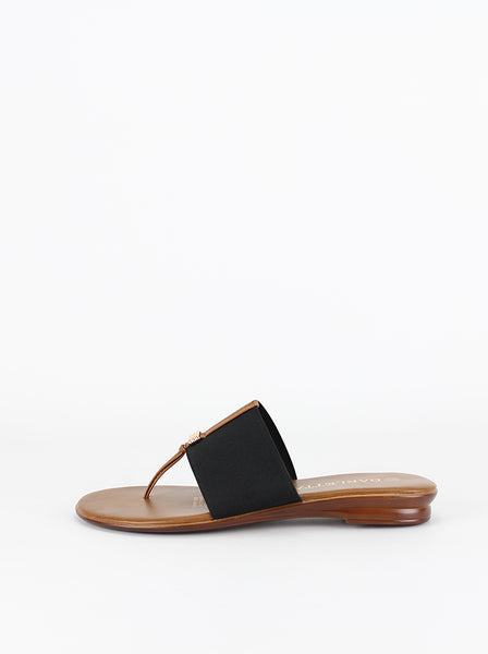 Severo - Black Resort Sandal by Barletta