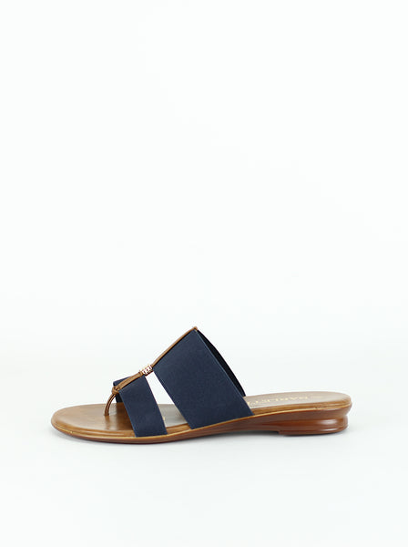 Splice - Navy Resort Sandal by Barletta