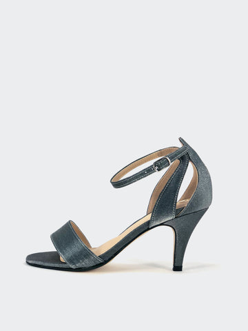 Ardia - Grey Evening Shoes by Clarice