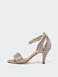 Ardia - Gold Evening Shoes by Clarice