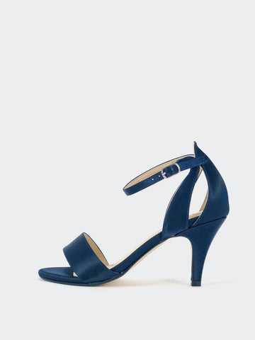 Ardia - Navy Evening Shoes by Clarice