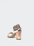 Anka - Rose Gold Evening Shoes by Clarice