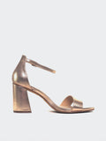 Crista - Rose Gold Block Heel