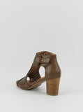 Noma Ladies Comfort Sandal in Dark Tan