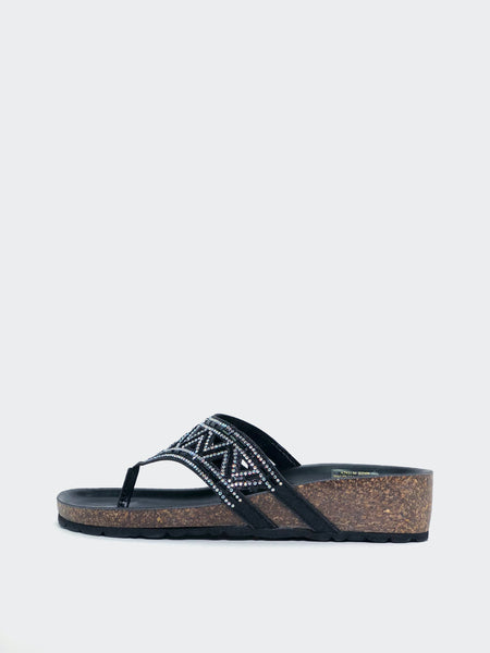 Lyn - Sparkly Dress Sandal by Barletta
