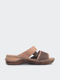 Quartz - Beige Leather Comfort Shoes by Mago