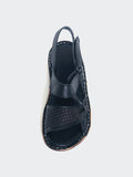 Quinn - Black Leather Comfort Shoes by Mago