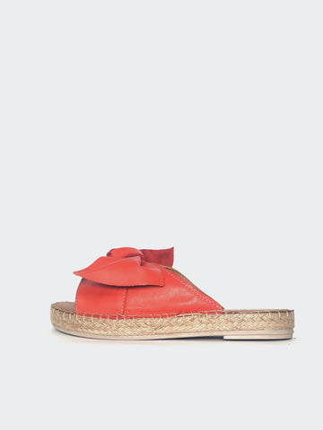 Raide - Red Leather Slide By Mago