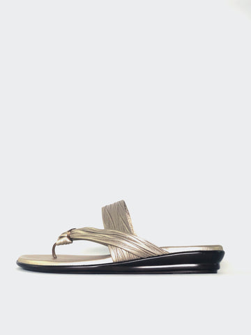 Ripley - Metallic Resort Sandal by Barletta