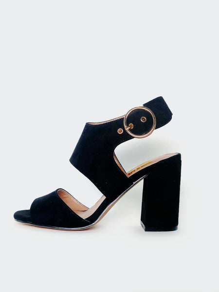 Dress - Black Block Heel By No! Shoes