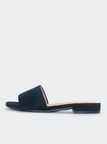 Flat - Black Flat Slip On By No! Shoes