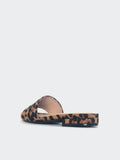Flat - Leopard Print Flat Slip On By No! Shoes
