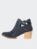 Nianco - Black Stylish Ankle Boot By No! Shoes