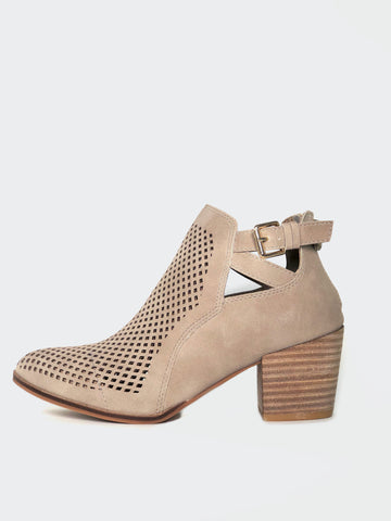 Nianco - Beige Stylish Ankle Boot By No! Shoes