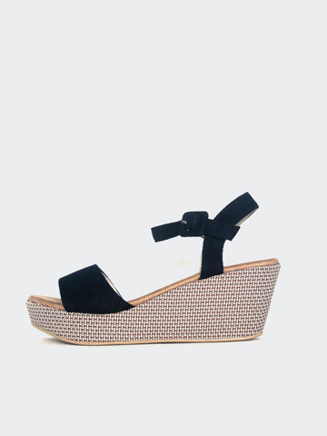 Plank - Black Platform Heel By No! Shoes