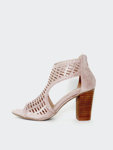 Rectangle - Stylish Block Heel By No! Shoes