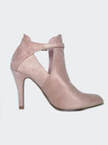 Xcite - Nude Winter Fashion Ankle Boot By No! Shoes