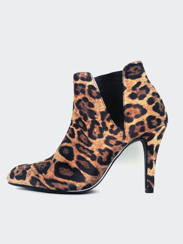 Xtreme - Leopard Print Winter Ankle Boot By No! Shoes