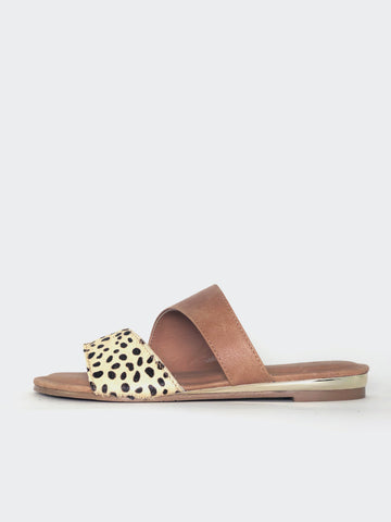 Maui - Camel Slip on Sandal By Step On Air