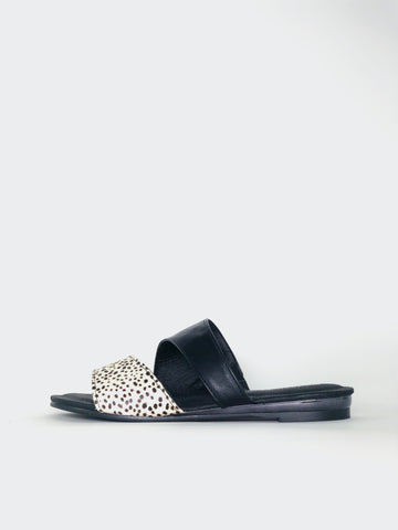 Maui - Black Slip on Sandal By Step On Air