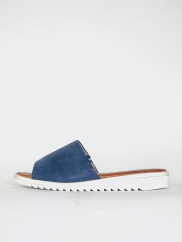 Ziggy - Navy Comfortable Sandal By Step On Air