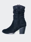 Halty - Black Comfort Winter Boot By Step On Air