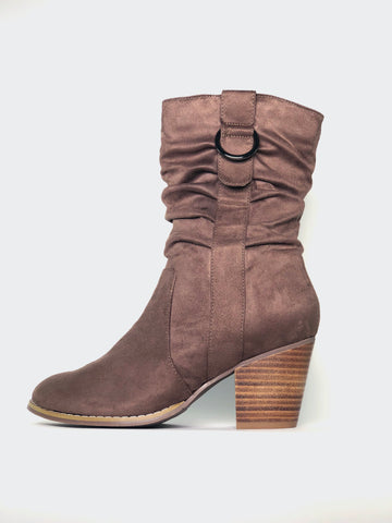 Halty - Brown Comfort Winter Boot By Step On Air