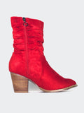 Halty - Red Comfort Winter Boot By Step On Air